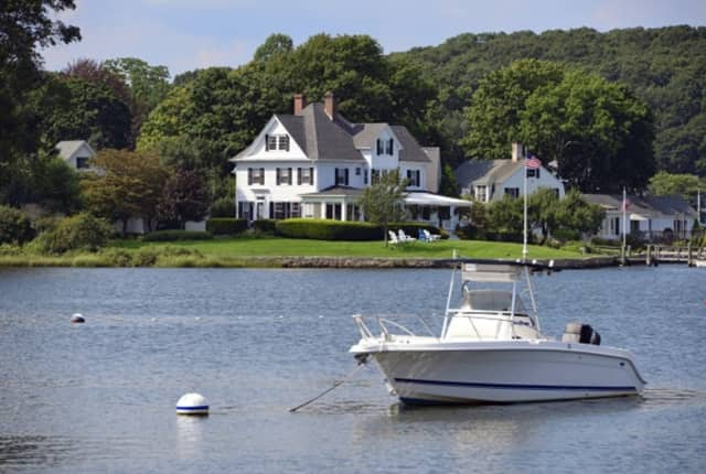 A mansion in Connecticut can set you back $5 million or more, especially along Long Island Sound.