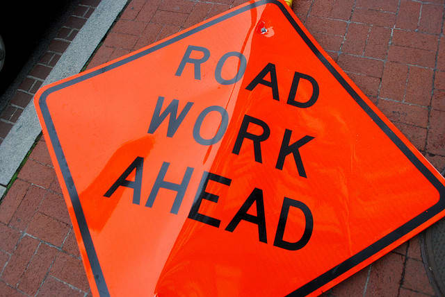Underground road work will force lane closures on Veterans Memorial Drive in Pearl River, Nov. 6 through Nov. 12.