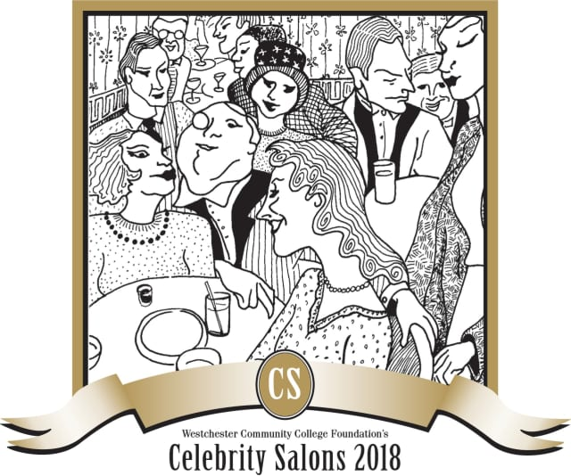 The Westchester Community College Celebrity Salon Series will be held from April to June.