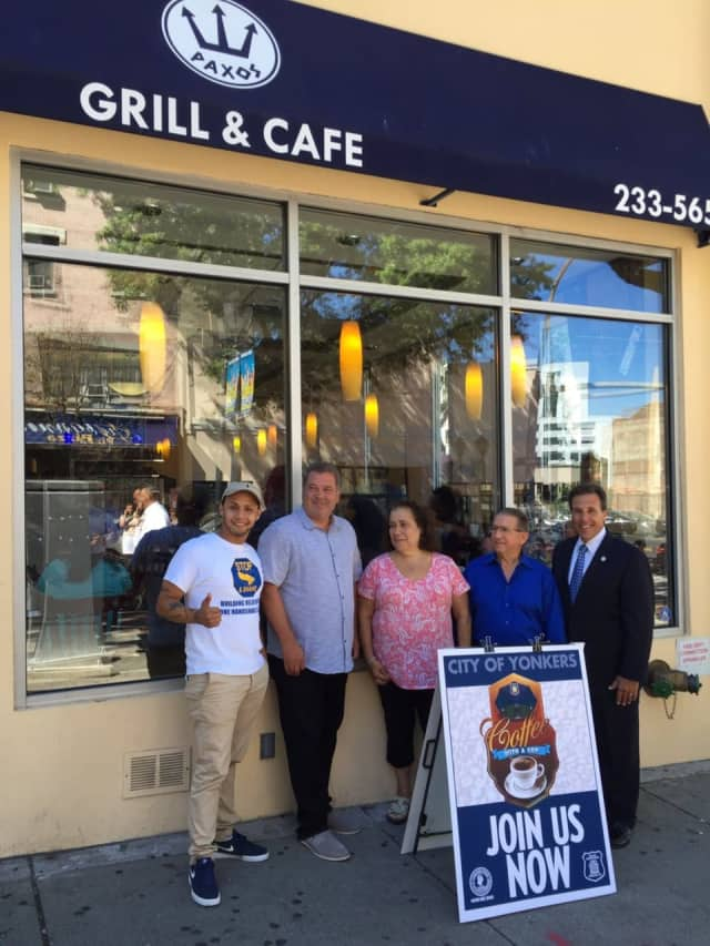 Paxos is hosting Coffee With A Cop in Yonkers Wednesday