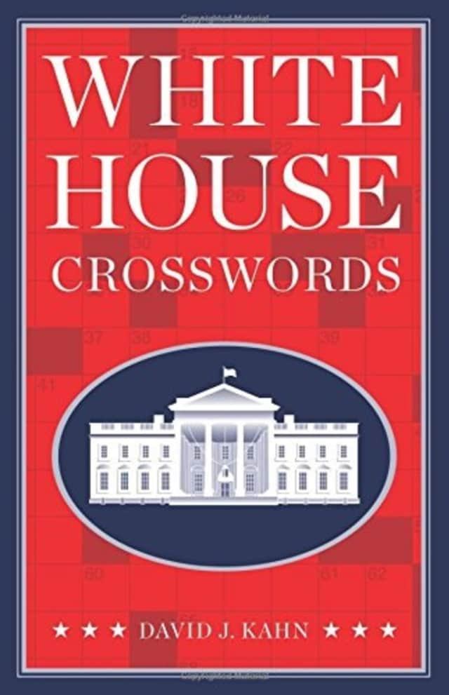 """Puzzle guru David J. Kahn, author of """"White House Crosswords,"""" will speak and sign books at the Franklin D. Roosevelt Presidential Library and Museum in Hyde Park on Monday, Dec. 21."""