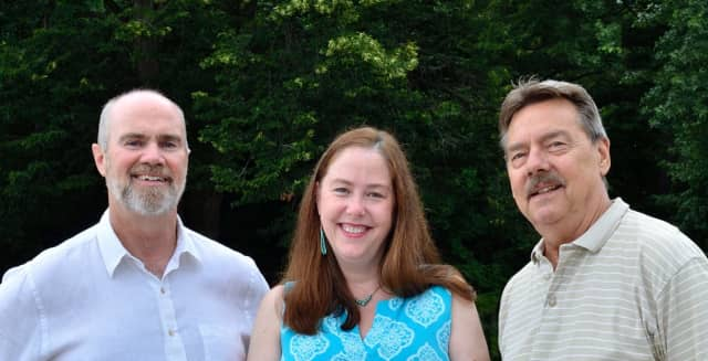 Greg Schmidt (left), Roseann Schuyler (center), and Bob Anderson (right)