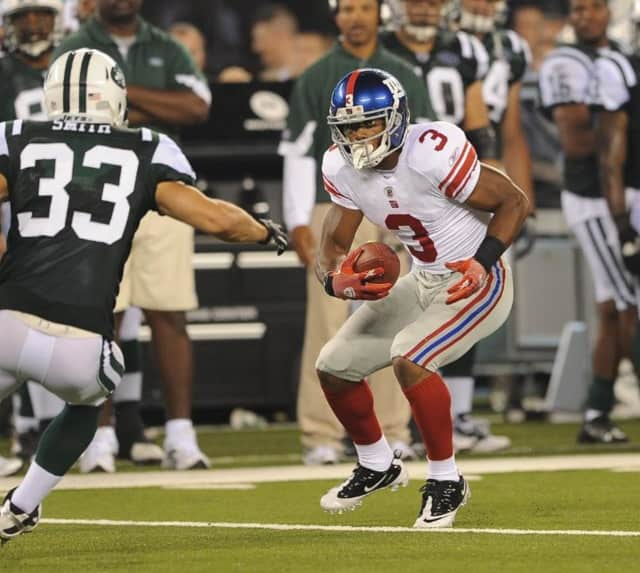 Paterson native Victor Cruz has been released by the New York Giants.