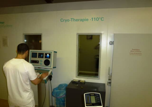 A cryotherapy is opening in Eastchester.