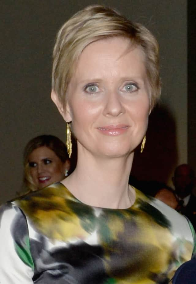 "Cynthia Nixon calls the governor ""Andrew The Bully."""