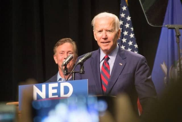 Former Vice President Joe Biden is New York Democrats' favorite.
