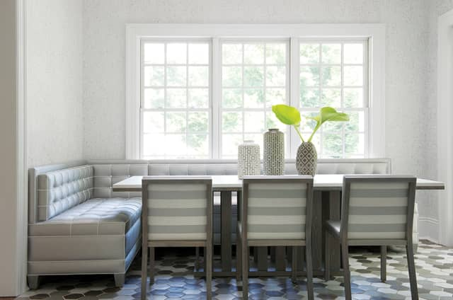 A breakfast nook designed by Diana Byrne. Photograph by Jane Beiles Photography. Courtesy DB Designs.