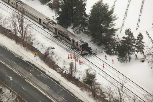 The deadly train crash last year near Valhalla has focused attention on a statewide effort to improve railroad crossing safety, state officials said. The Metro-North train collision with an SUV killed five people plus the driver of the SUV.