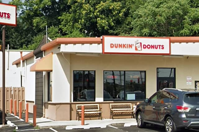 Hawthorne police said they found a syringe, rubber bands and other drug paraphernalia on a bench outside the Dunkin' Donuts at 84 Goffle Road.