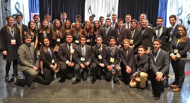 Harrison High School sent four students to the National DECA Competition in Nashville.