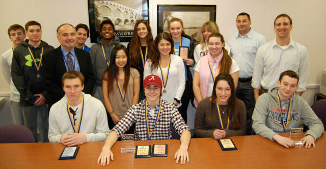 The Northern Valley/Old Tappan DECA Club qualified for the state-level DECA competition in Cherry Hill Feb. 24-26.