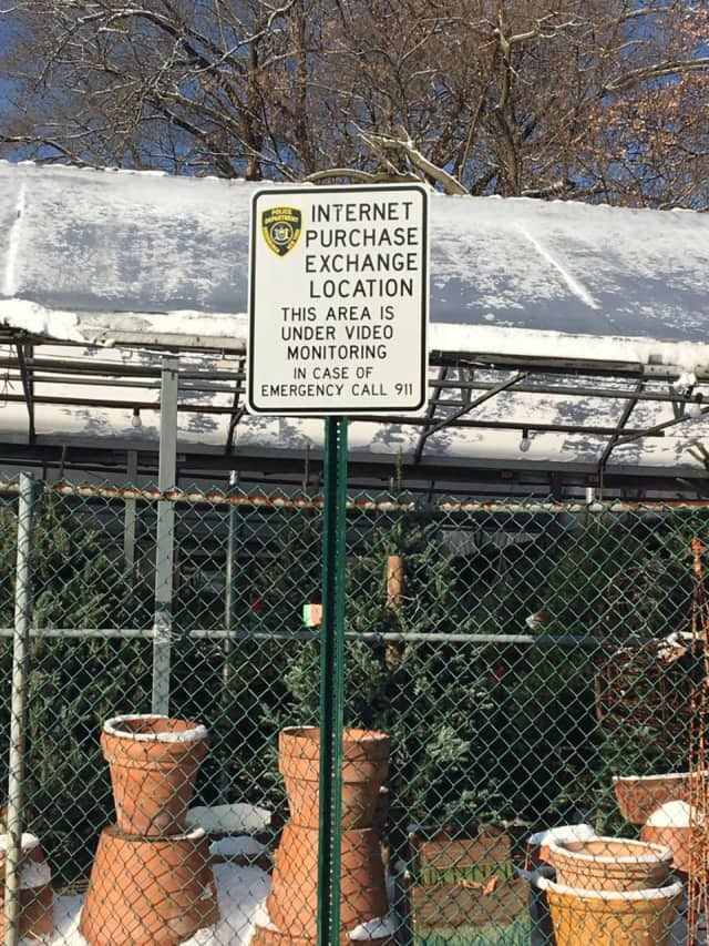 The Greenburgh Police Department has arranged for a Safe Exchange Zone to protect residents.