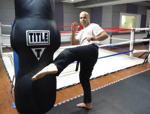 Mike Elayan opened The Art of Self Defense in Elmwood Park in September.