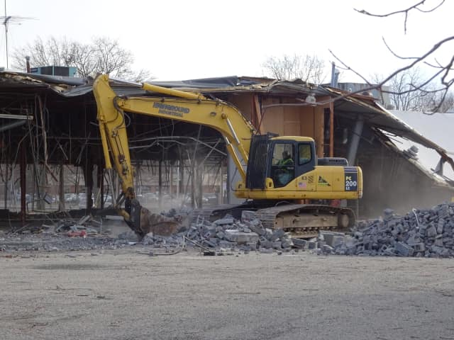 Demolition started in December at the site of a planned ShopRite in Wyckoff.