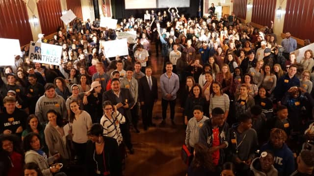 More than 400 students participated in a daylong summit to help fight the opioid epidemic.