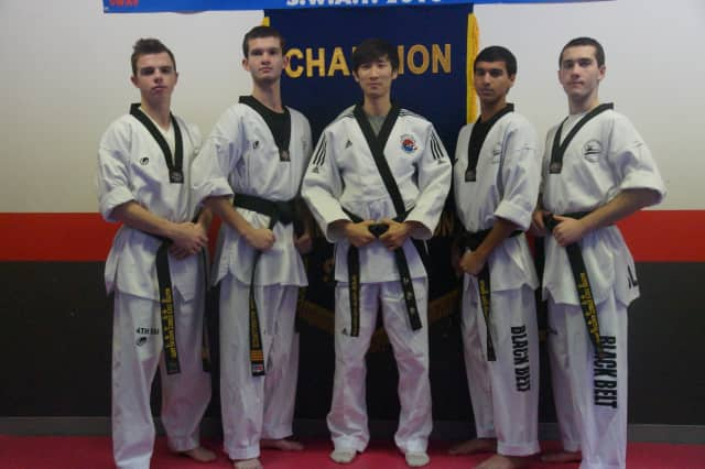 Twins Ben and Adam Michalowicz along with Anthony Cieszko and Joshua Sen recently became taekwondo masters.