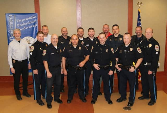 Members of the Danbury Police Department take part in the No-Shave November movement to fight cancer.