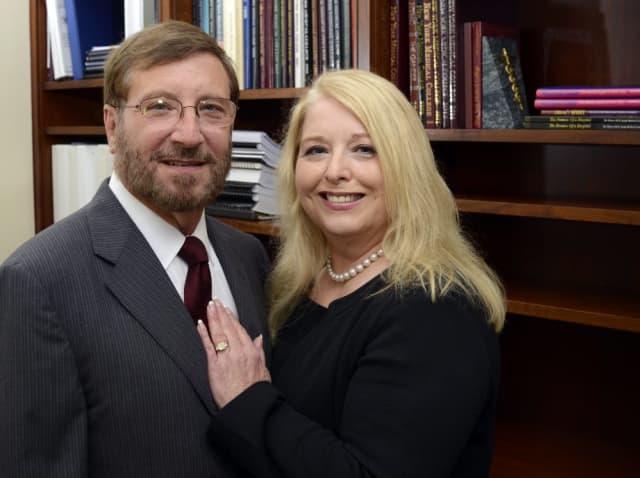 Drs. Robert and Sherlita Amler. Photograph by Bob Rozycki.