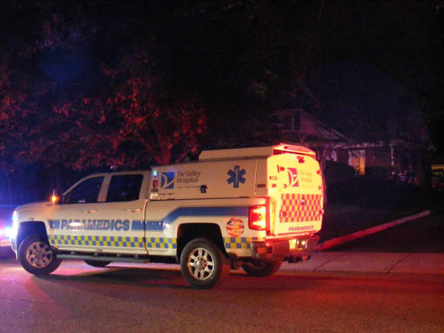 Paramedics responded to a Ridgewood house on unofficial reports of an unconscious person.