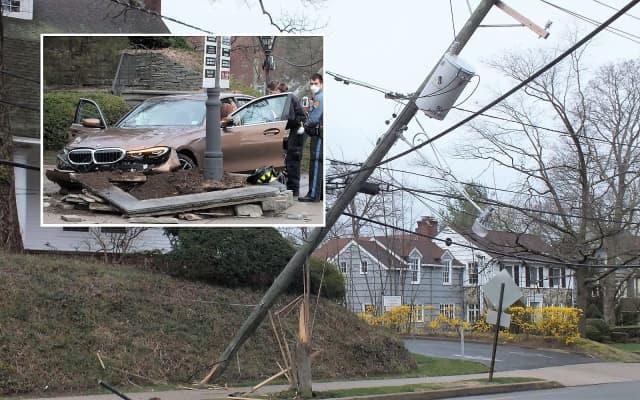 At the scene near 60 West Ridgewood Avenue in Ridgewood.