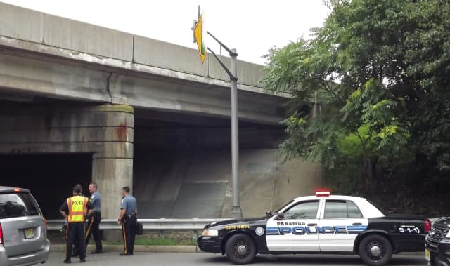 Officers found the 28-year-old attempted suicide victim on westbound Midland Avenue below the GSP's northbound side, Police Chief Kenneth Ehrenberg said.