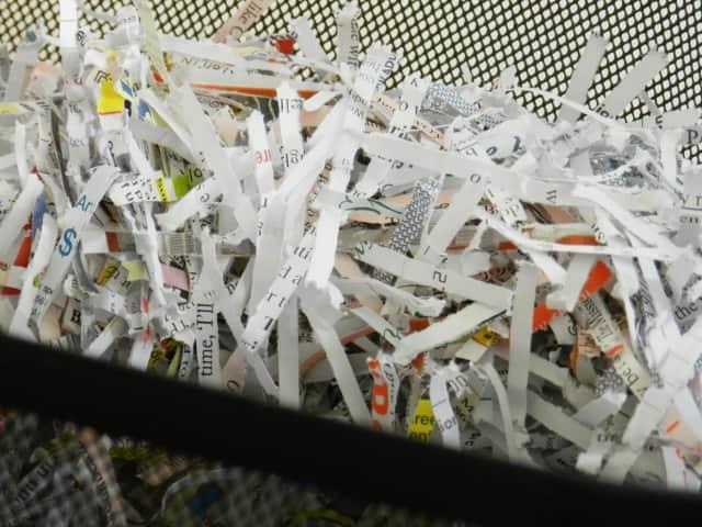 Have sensitive documents shredded at Ho-Ho-Kus Borough Hall.