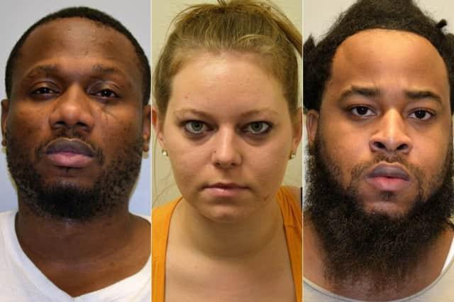 Lamarcus Bryant, Jessica Oldaker, Jacari Arnold