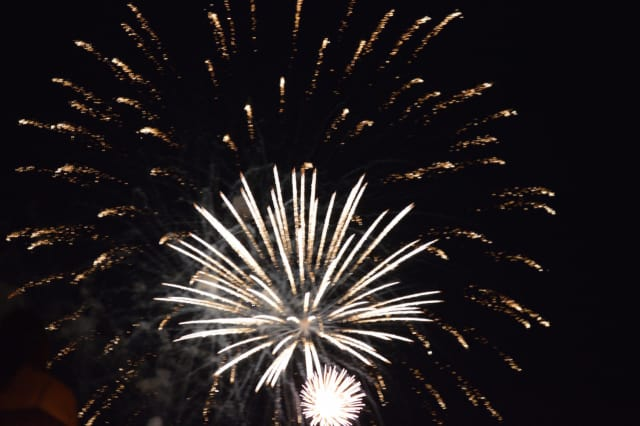The Darien fireworks will be Sunday.