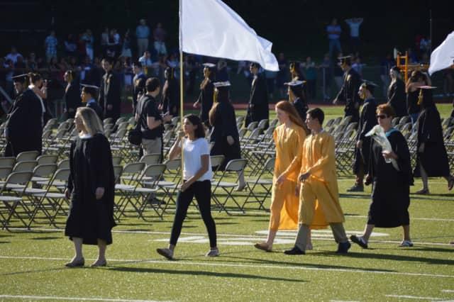 A recent Trumbull High graduation