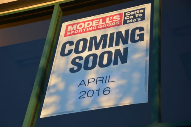 The opening of a Modell's Sporting Goods store in Mount Kisco has been delayed until late summer.