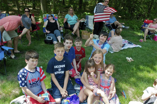 The Town of Monroe held its annual Memorial Day Parade Sunday, with more than 40 groups represented.