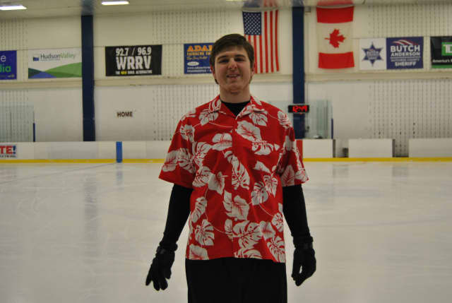 Jonathan Peterson will be skating in the Special Olympics on Feb. 18.