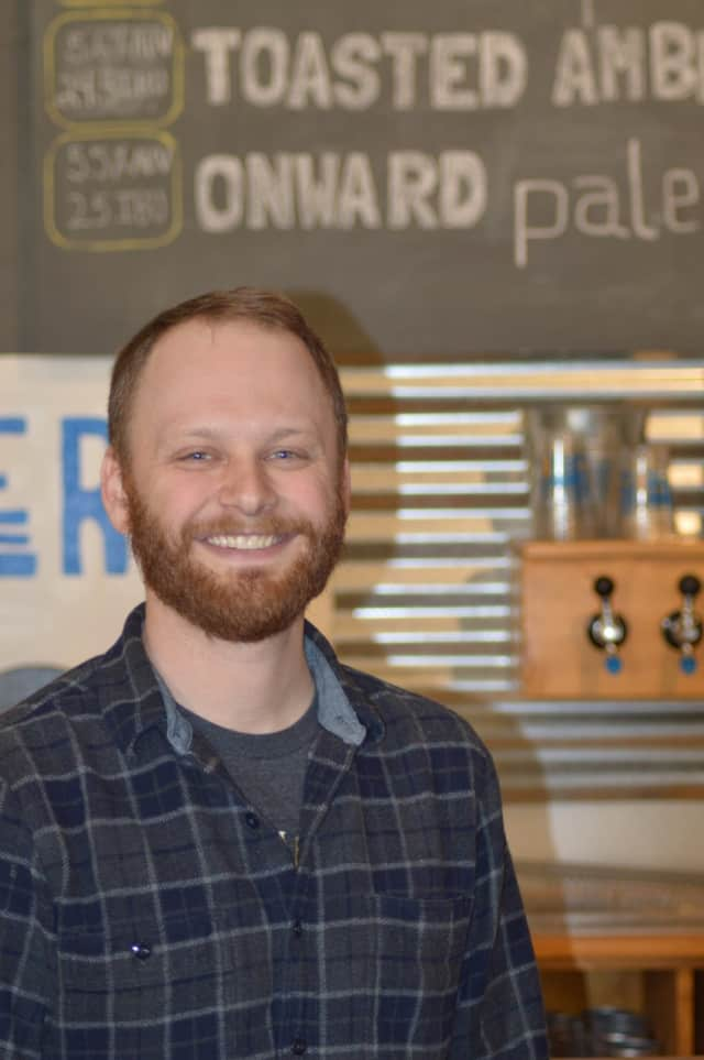 Tom Price is the new brewmaster at Half Full Brewery in Stamford.