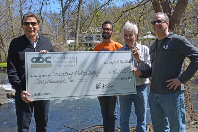 Ginsburg Development donated $10,000 to the 7th annual Great Saw Mill River Cleanup and Groundwork Hudson Valley.