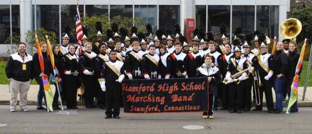 The Stamford High Marching Band, under the direction of George Beratis, will perform the National Anthem in front of more than 40,000 fans at the New York Mets vs. LA Dodgers game on Friday, May 27.
