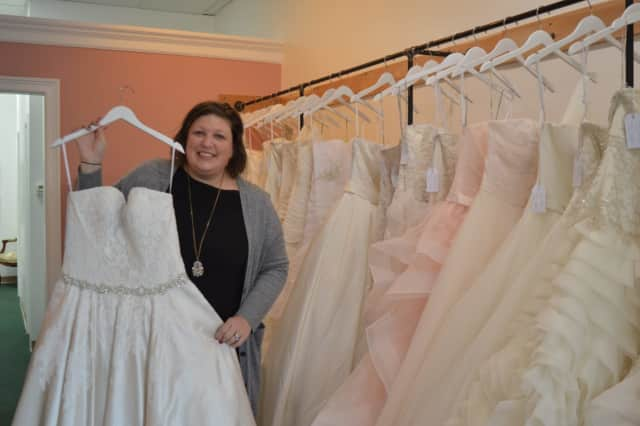 Erica La Ferlita opened Savvy Bride in Stratford in January.