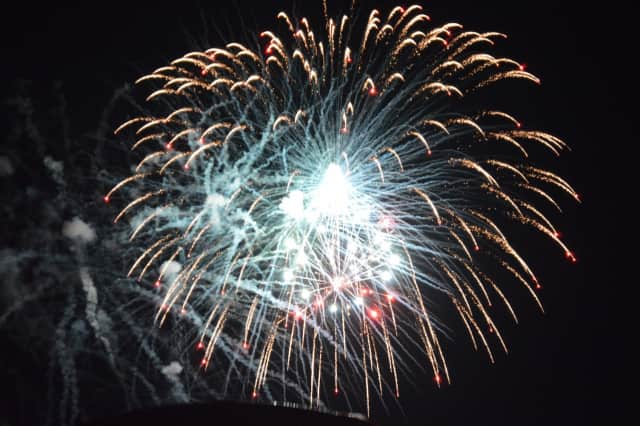 Fireworks displays are planned throughout Fairfield County through July 4th.