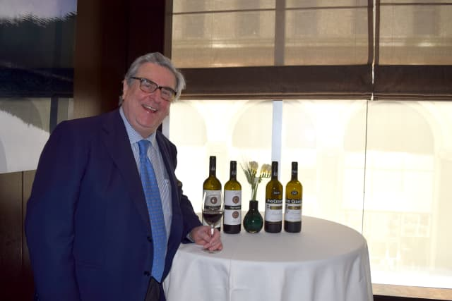 Pio Boffa, fourth generation owner and winemaker of Pio Cesare Winery in the Piedmont region of Italy.