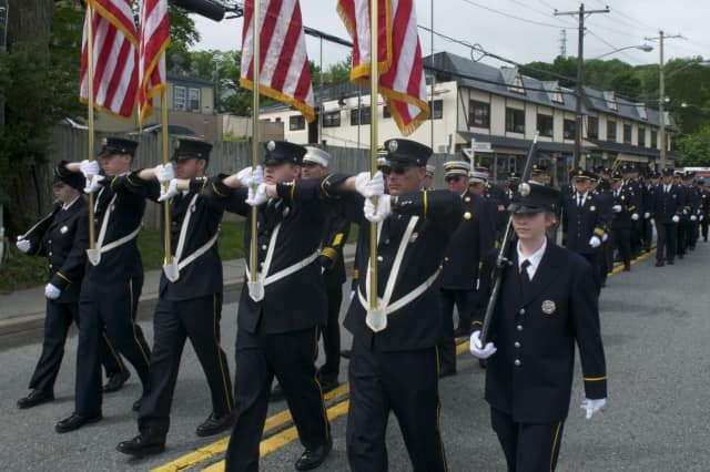 Putnam County remembered those who have served and those who gave their lives in military service on Memorial Day, with a parade and a ceremony in Mahopac.