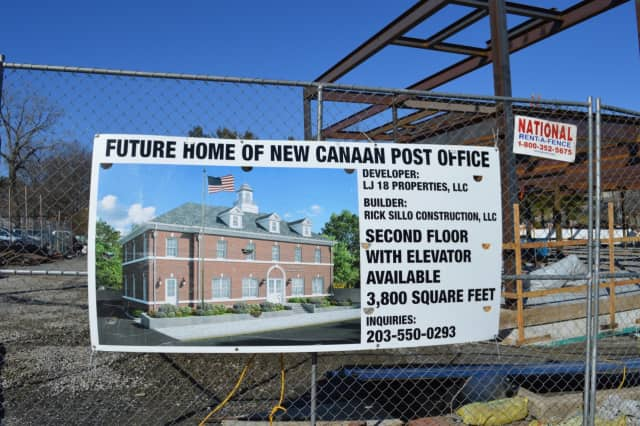 The developer of the New Canaan post office plans to have a second tenant when the building opens in August.
