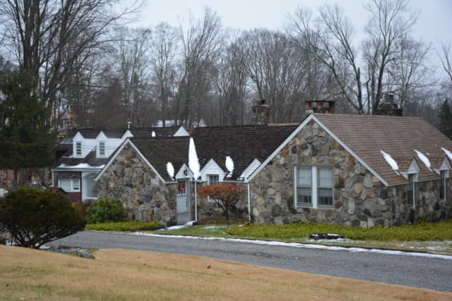 The Katonah home of David Cuse, who was found dead in his yard on Saturday, Dec. 26 and is believed to have been killed by gunshots.