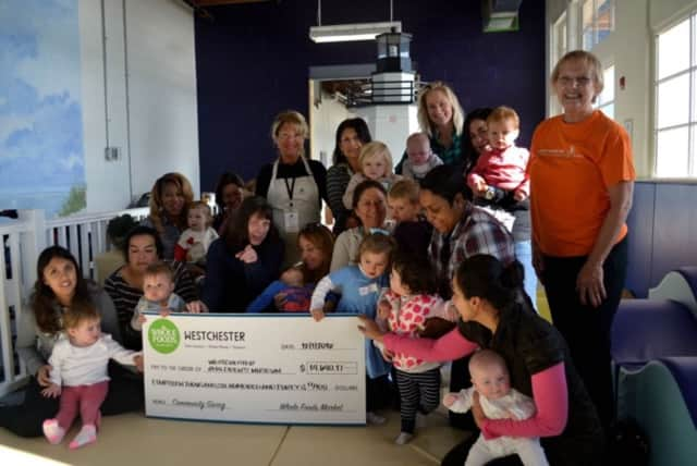 Whole Foods of Westchester donated nearly $15,000 to the county Children's Museum in Rye.