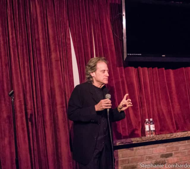 Richard Lewis performs at Rockwell's in Pelham.