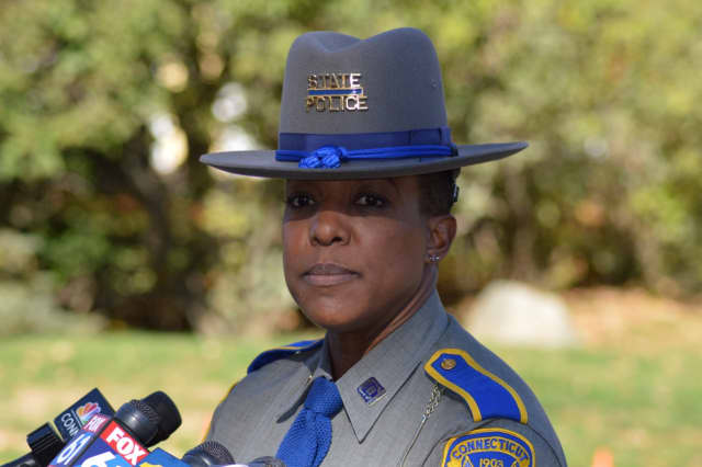 Connecticut State Police Trooper Kelly Grant.