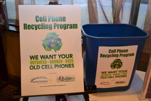The Dutchess County Regional Chamber of Commerce collects old cellphones to help fund its foundation that works with local youth and professionals to enhance growth in the Hudson Valley region.