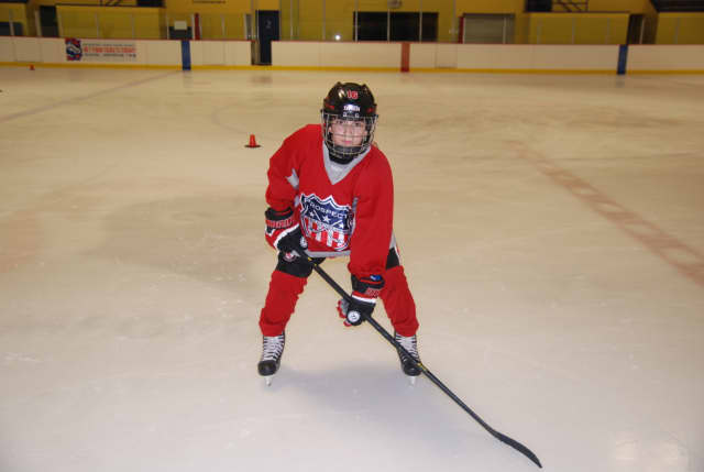 Dante Palombo, a sixth-grader at Eastview School in White Plains, was named to the 2015-16 New York Rangers Pee Wee Quebec Ice Hockey team.