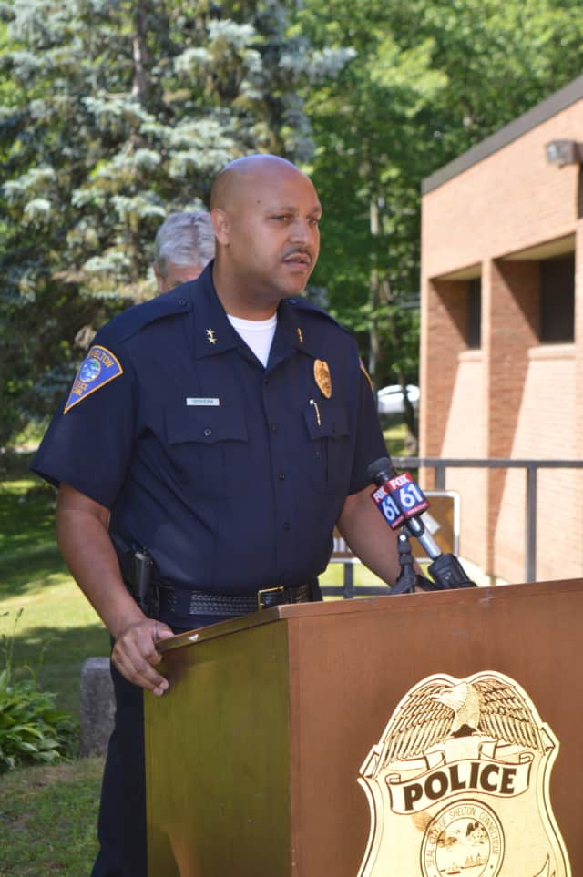 Shelton Interim Police Chief Shawn Sequeira