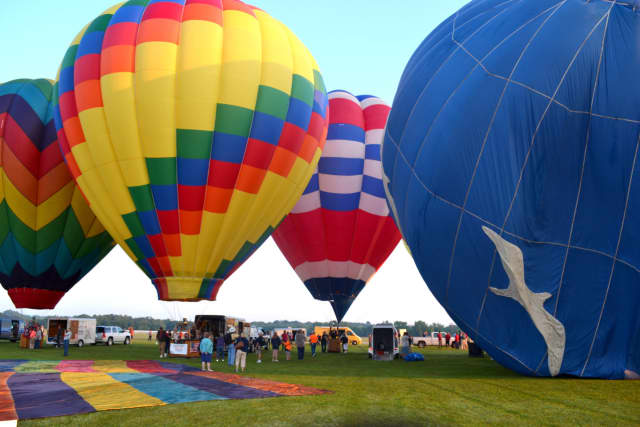 The Hudson Valley Hot-Air Balloon Festival is scheduled from July 8-10.
