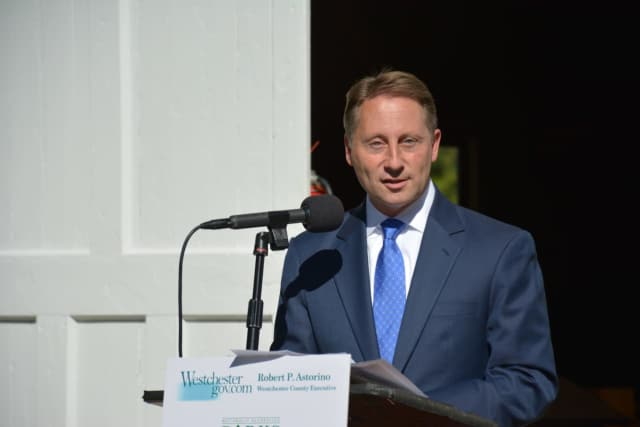 Westchester County Executive Rob Astorino called on New York Gov. Andrew Cuomo and New Jersey Gov. Chris Christie to resign on Wednesday following testimony that they conspired to end an investigation of the 2013 Bridgegate scandal.