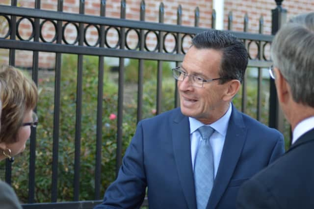 Cannon Grange in Wilton will get a visit from Gov. Dannel Malloy on Thursday, Jan. 21.